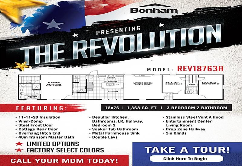 Revolution Standard Features