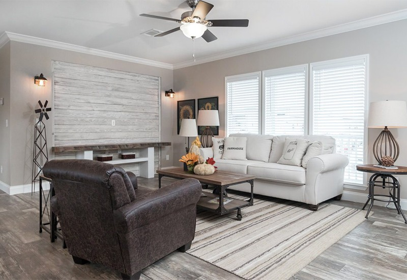 Clayton Schult New Orleans Mobile Home Living Room