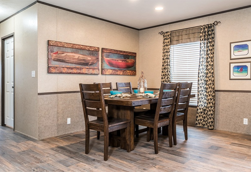 Clayton SLT28563D Mobile Home Dining Area