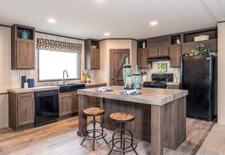 Clayton SLT28563D Mobile Home Kitchen