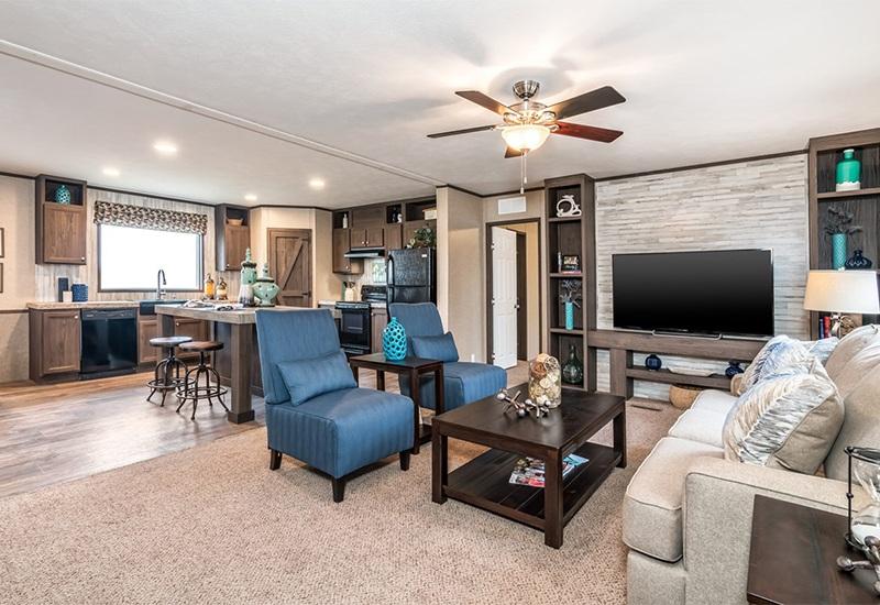 Clayton SLT28563D Mobile Home Living Room
