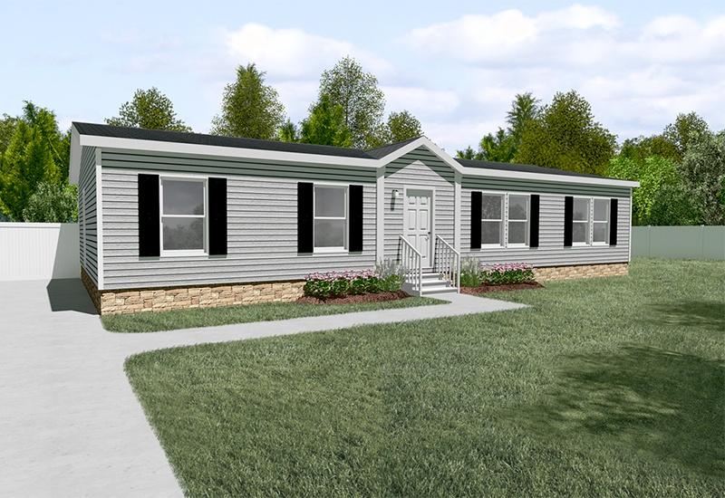 Clayton SLT28563D Mobile Home Exterior