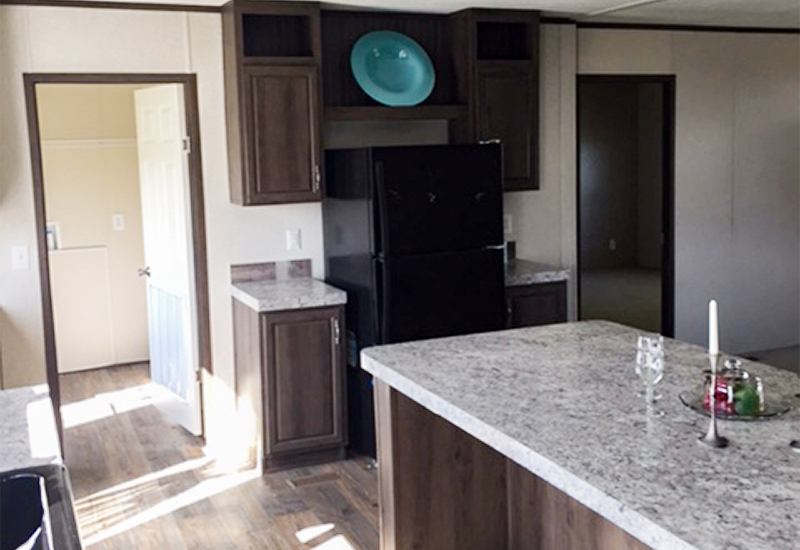 Fleetwood Weston 28523W Mobile Home Kitchen