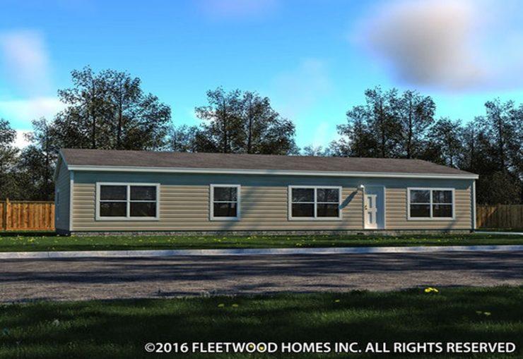 Fleetwood Berkshire 32563B Mobile Home Exterior