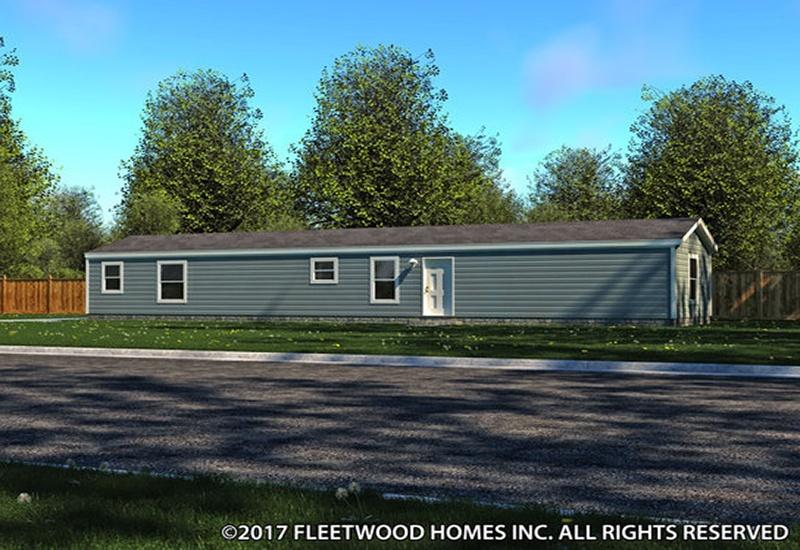 Fleetwood Eagle 16663E Mobile Home Exterior