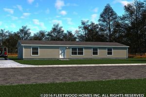 Fleetwood Weston Mobile Home 28603W Exterior
