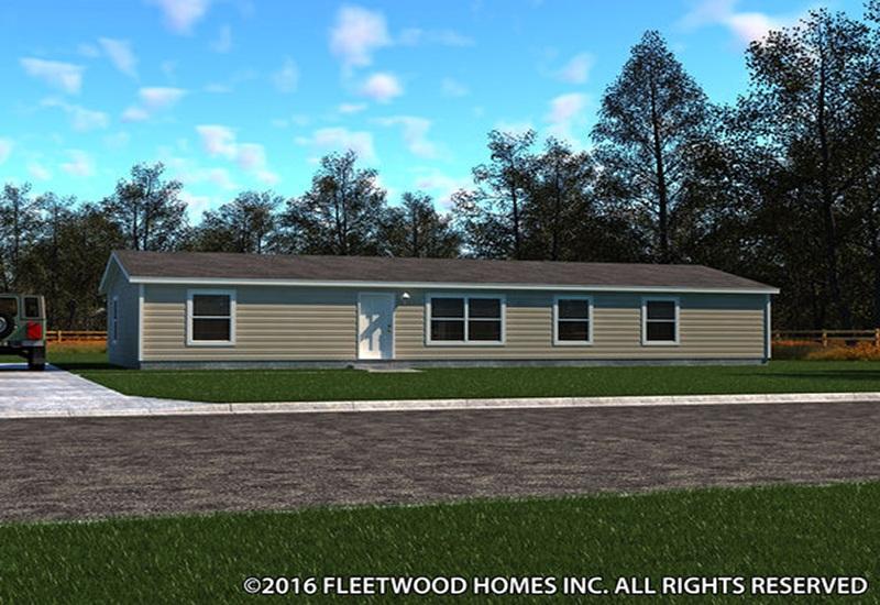 Fleetwood Weston Mobile Home 28603W Exterior