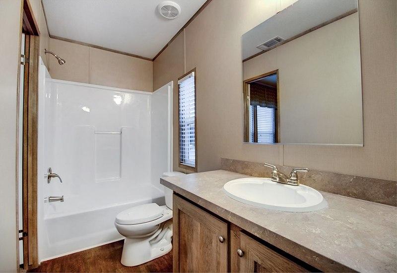 Clayton Smart buy 16723B Mobile Home Guest Bathroom