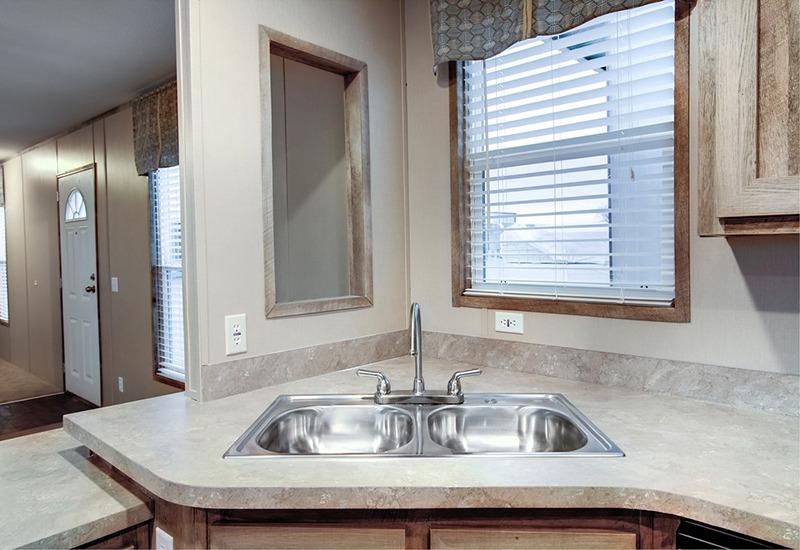 Clayton Smart buy 16723B Mobile Home Kitchensink