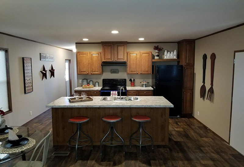 Houston C Model Kitchen