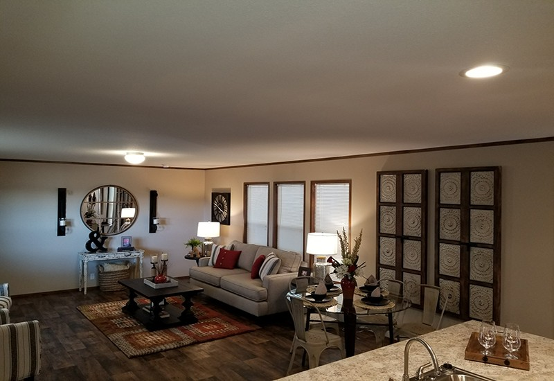 Houston C Model Living Room