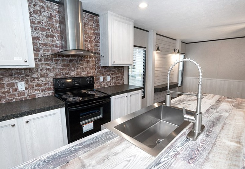 Revolution Stretch Mobile Home Kitchen