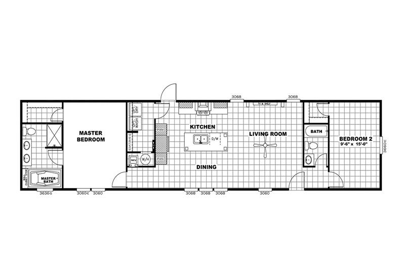 Mini Resolution Mobile Home Floor Plan
