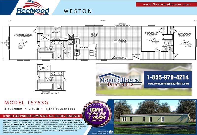 Fleetwood Weston - 16763G