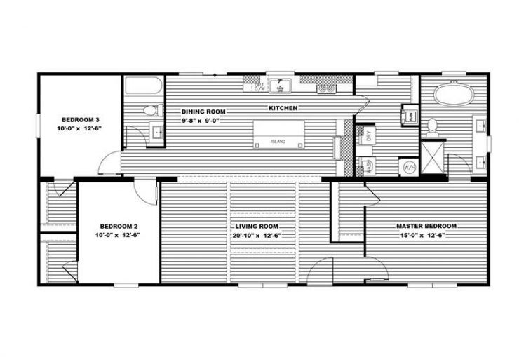 Clayton Aimee - Floor Plan