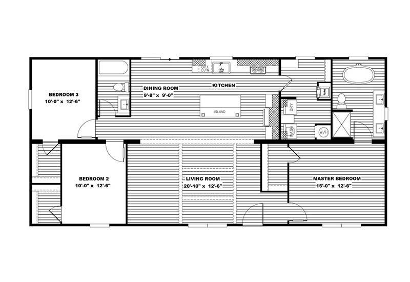 Clayton Aimee - Floor Plan