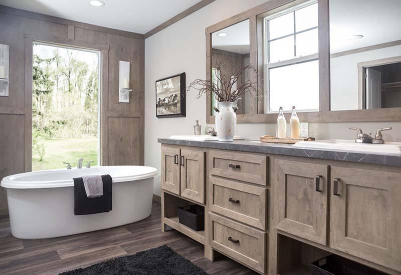 Clayton Amelia - Mobile Home - Master Bathroom