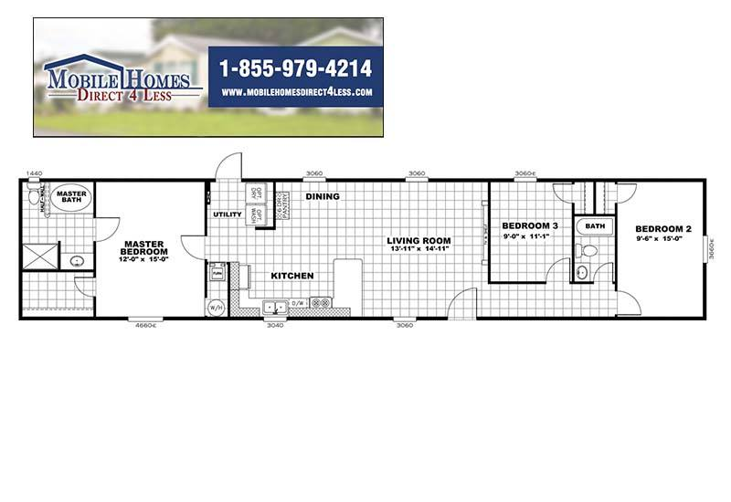 Independent - Mobile Home - Branded Floor Plan