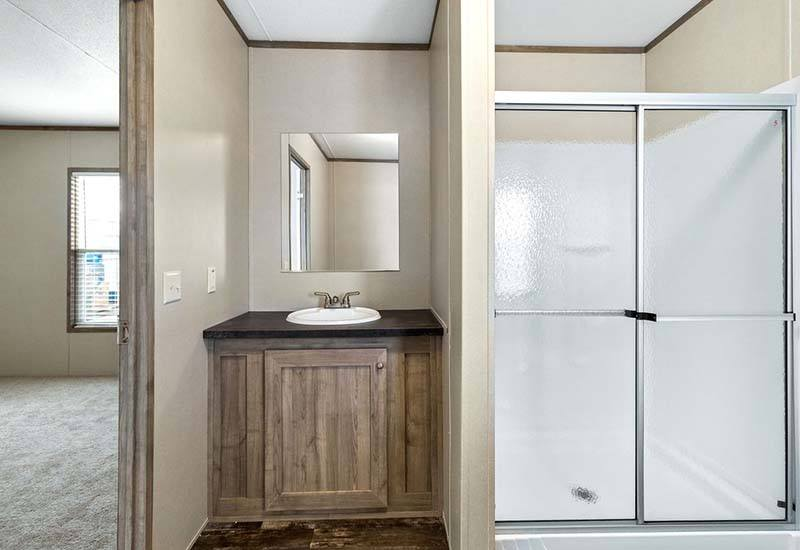 Independent - Mobile Home - Master Bathroom