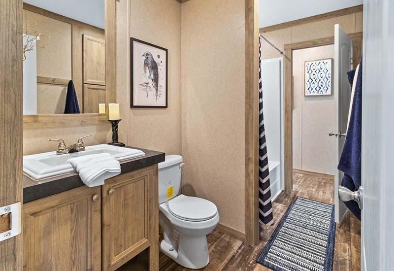 The Flex Mobile Home - Guest Bathroom
