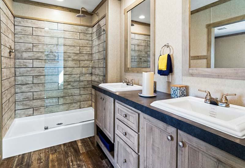 The Flex Mobile Home - Master Bathroom