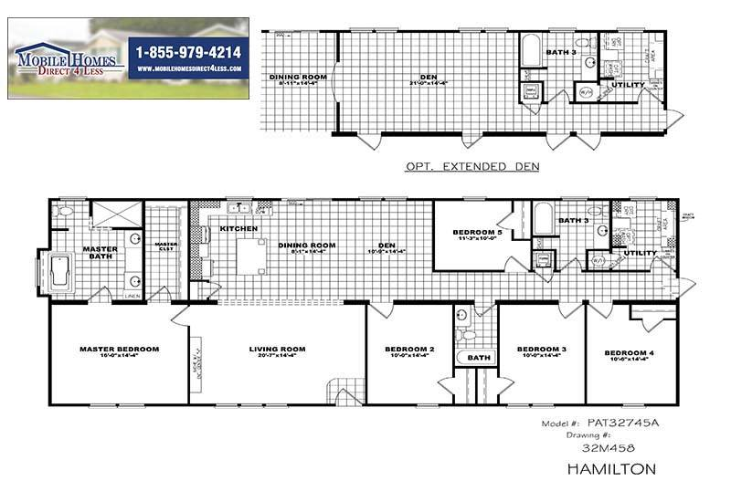 Clayton Hamilton - Floor Plan