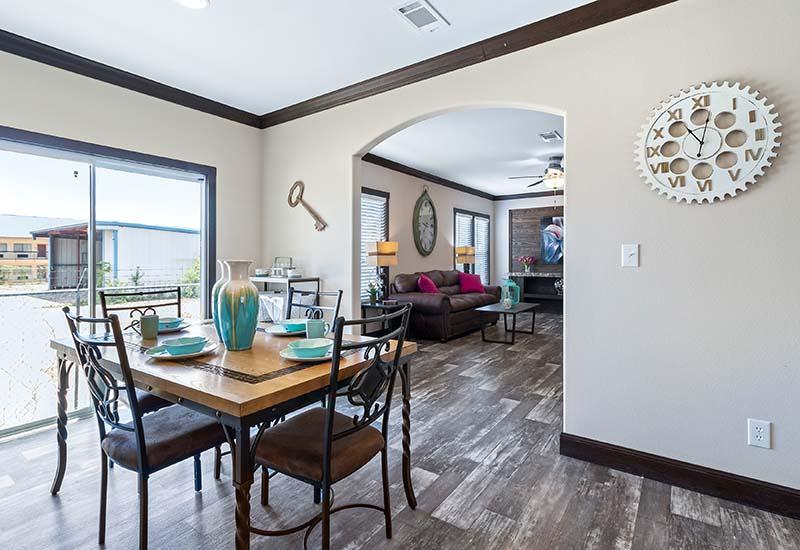 Clayton Hamilton - Mobile Home - Dining Area