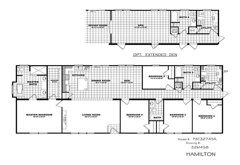 Clayton Hamilton - Branded Floor Plan