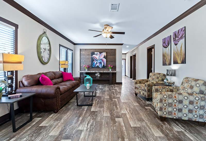 Clayton Hamilton - Mobile Home - Living Area