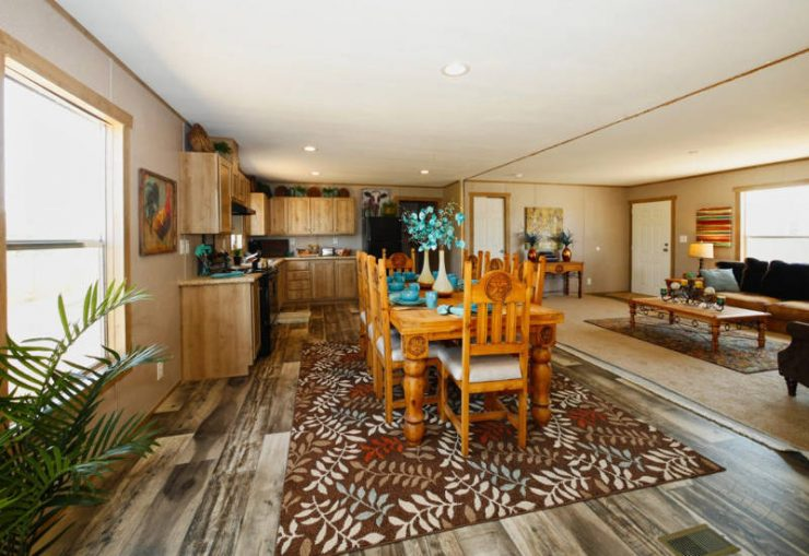 Taurus - 9366 - Living Room and Dining Room