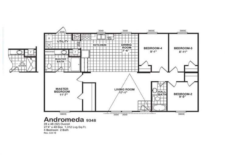 Nexus Andromeda - Floor Plan