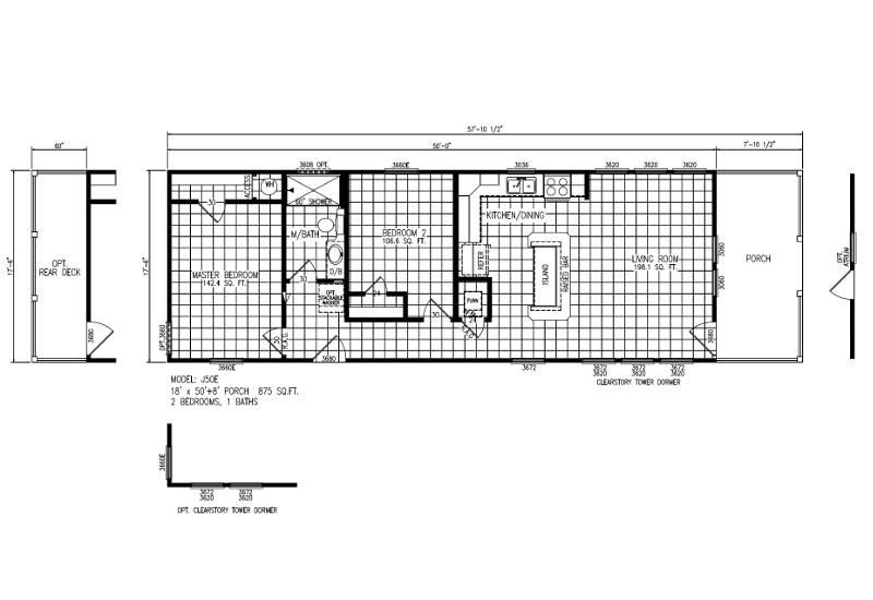 Meridian - Mini Mansion J50EP8 - FP