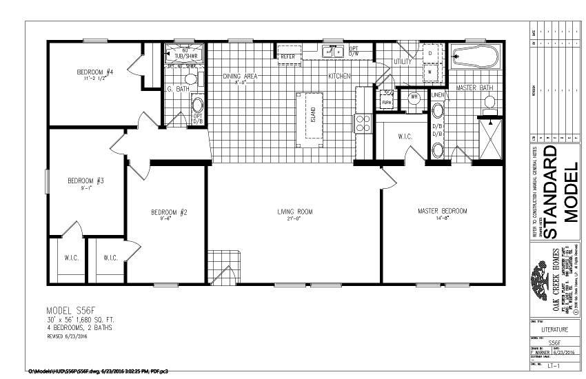 S56F - Cabot - Floor Plan