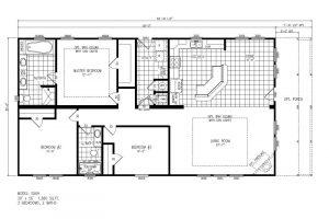 S56H - Raleigh - Floor Plan