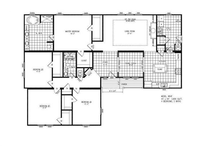 W64F - Verrazzano - Floor Plan