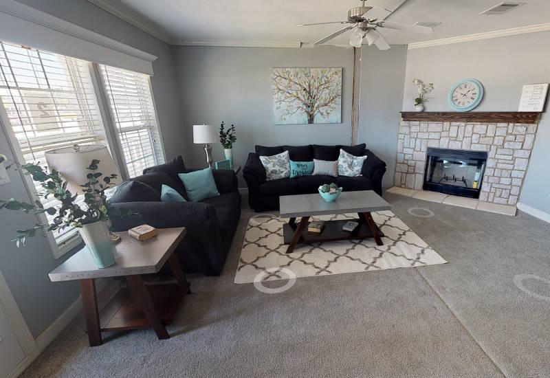 Meridian Vandaveer W64E - Triple Wide - Living Room 2