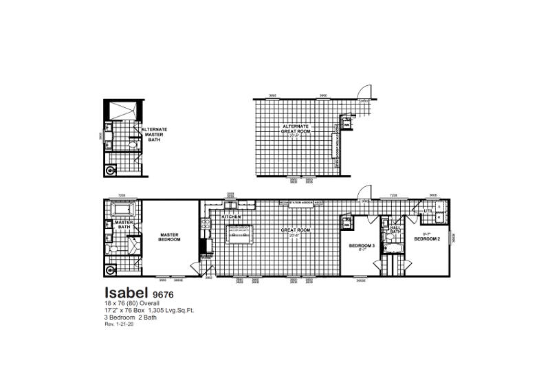 Meridian Isabel - 9676 - FP