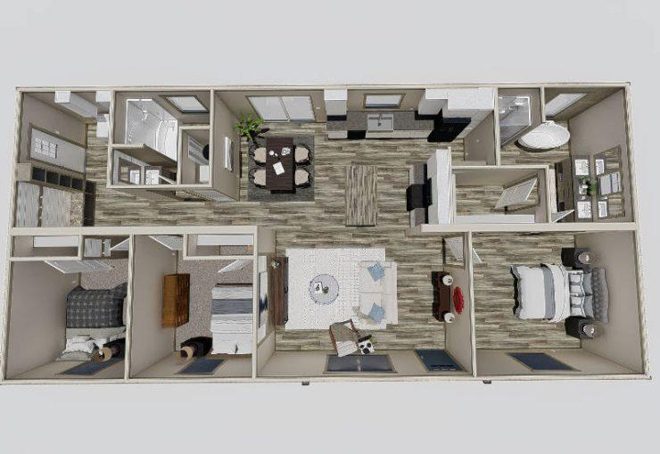 Clayton NXT - Emilie - Virtual Floor Plan