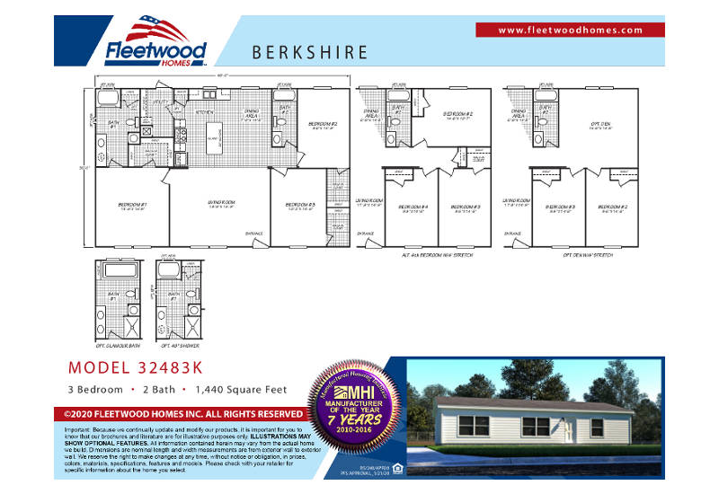 Berkshire 48K - BS32483K - FP