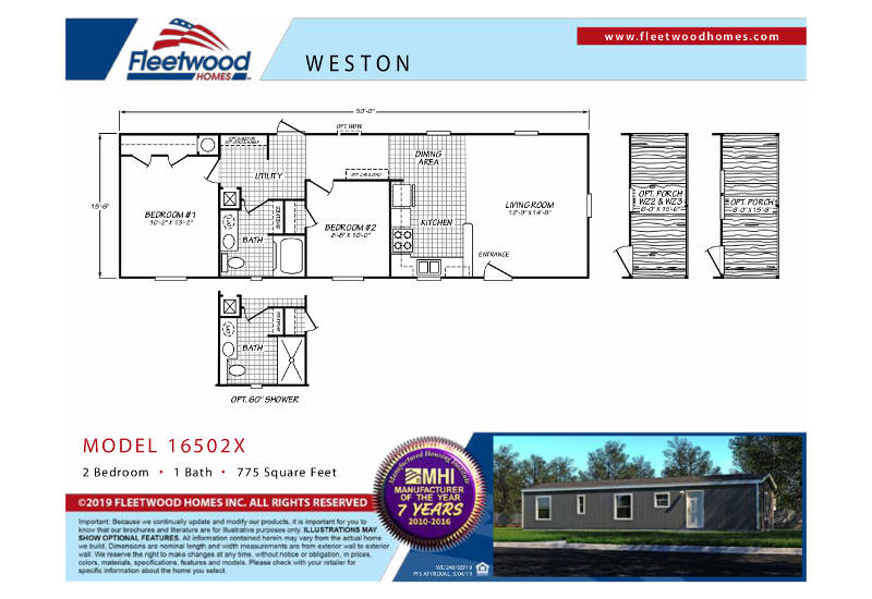 Weston 50 - WE16502X - FP